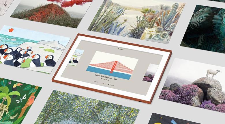 Tạo phòng tranh tại nhà với chế độ hình nền Art Mode và Ambient Mode