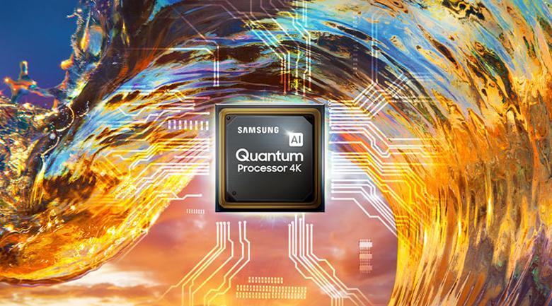 Smart Tivi Khung Tranh The Frame QLED Samsung 4K 75 inch QA75LS03A - Tái hiện hình ảnh và âm thanh hoàn hảo với bộ xử lý Quantum 4K