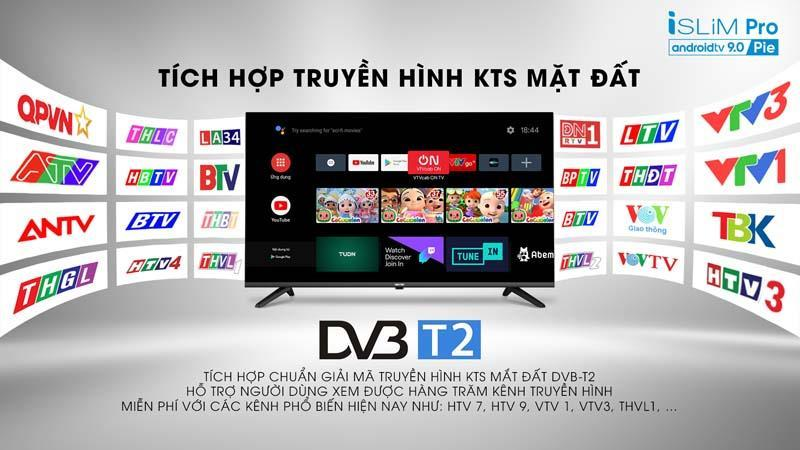 Tivi Asanzo 32S51 truyền hình KTS mặt đất