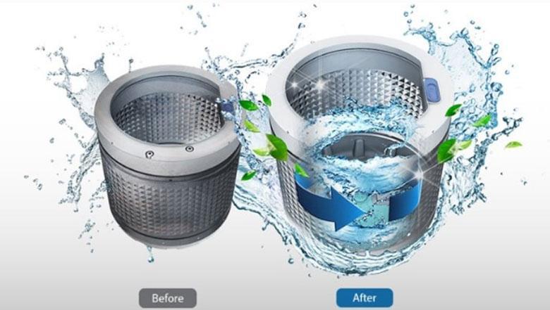 Hướng dẫn cách vệ sinh máy giặt LG: vệ sinh lồng giặt