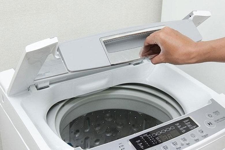 máy giặt LG không vắt được do nắp không đóng kín