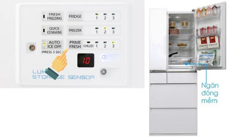 Hướng dẫn sử dụng tủ lạnh Panasonic Prime Fresh