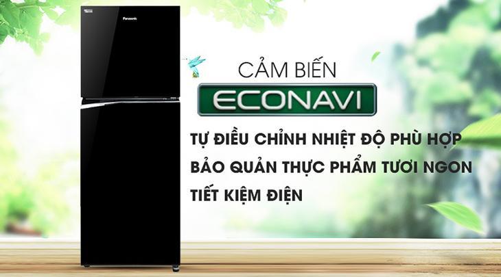 Công nghệ ECONAVI trên tủ lạnh Panasonic là gì?