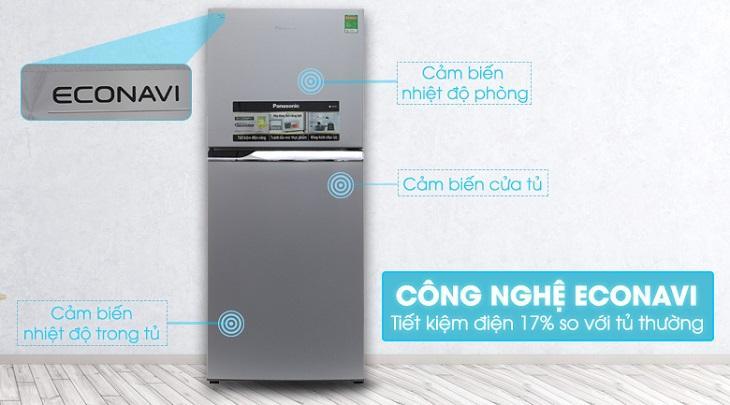 công nghệ ECONAVI trên tủ lạnh Panasonic