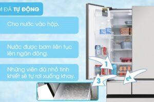Hướng dẫn sử dụng chức năng làm đá tự động trên tủ lạnh Panasonic