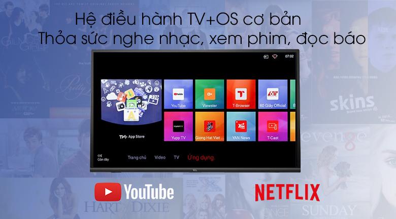 Smart Tivi TCL 32 inch L32S6300 - TV OS