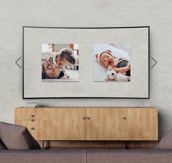 Smart TV Samsung màn hình cong Crystal UHD 4K 55 inch 55TU8300