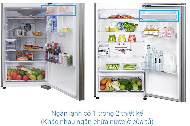 Samsung Inverter 360 lít RT35K5982S8/SV - thiết kế ngăn lạnh