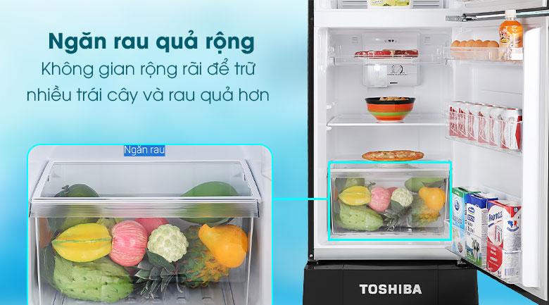 Tủ lạnh Toshiba GR-A25VM (UKG1) Ngăn rau quả rộng