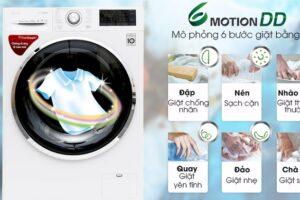 Công nghệ giặt 6 bước chuyển động ( 6 Motion DD ) là gì