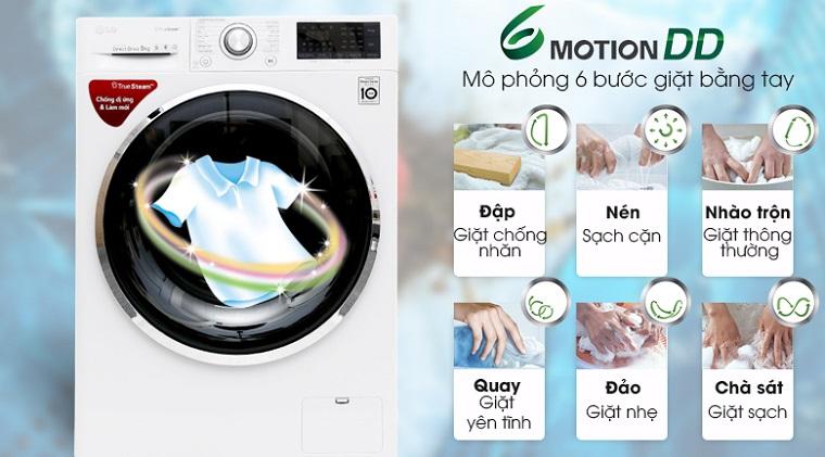Các bước của công nghệ 6 Motion DD