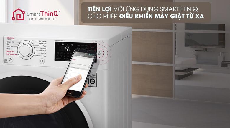 Điều khiển từ xa bằng điện thoại qua ứng dụng LG SmartThinQ