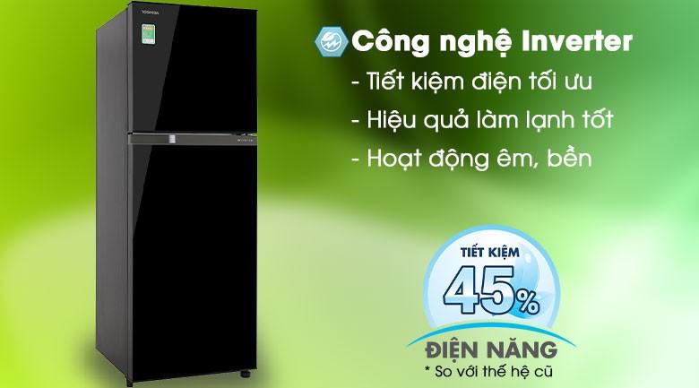 Inverter-Tủ lạnh Toshiba Inverter 233 lít GR-A28VM