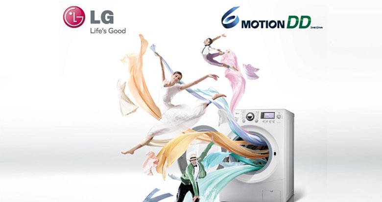 Máy giặt LG có tốt không với công nghệ 6 Motion DD
