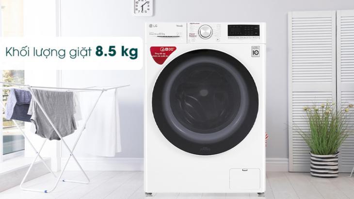 Máy giặt LG có khối lượng giặt đa dạng, đáp ứng nhu cầu khác nhau