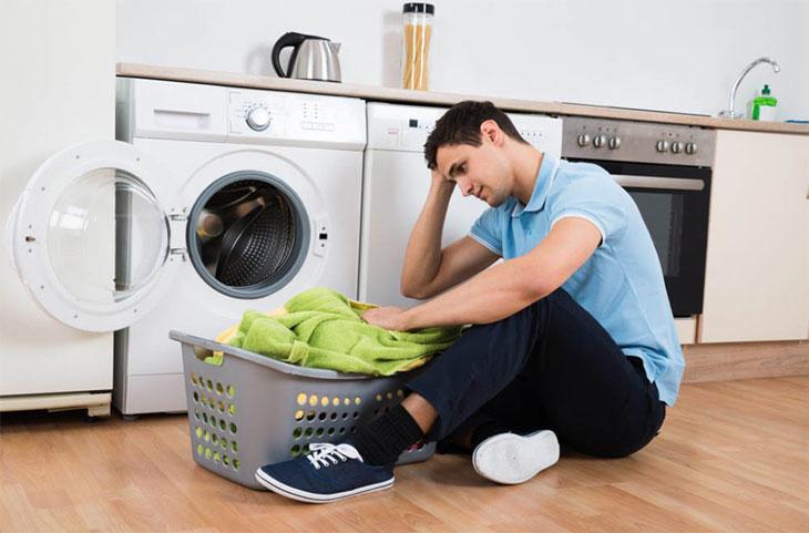 Nguyên nhân máy sấy quần áo không nóng