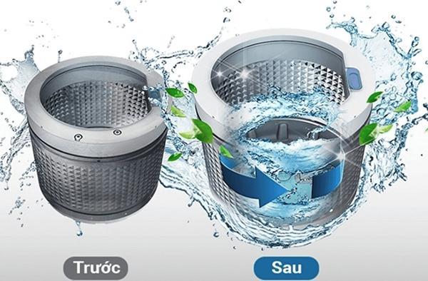 Hướng dẫn cách vệ sinh máy giặt Samsung cửa trên sạch như mới.