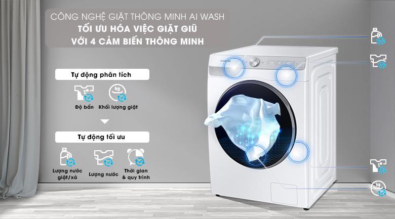 Máy giặt Samsung WW10TP44DSH/SV - AI Wash