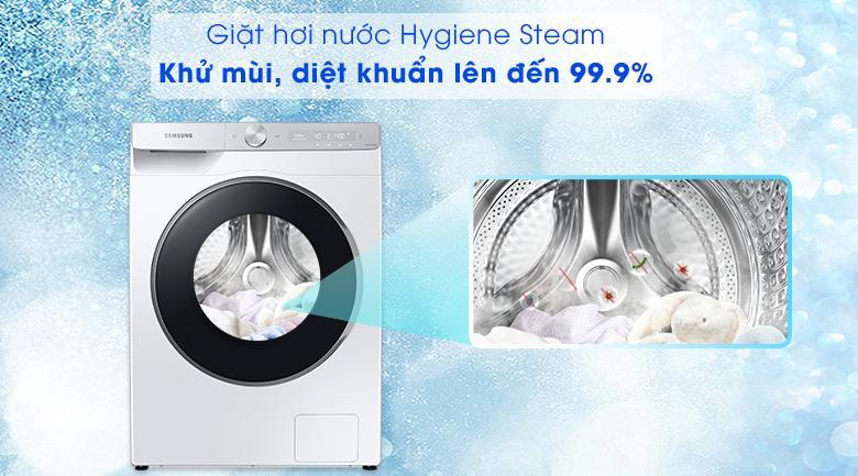 Máy giặt Samsung WW10TP44DSH/SV - giặt hơi nước