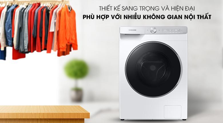 Máy giặt Samsung WW10TP44DSH/SV - thiết kế