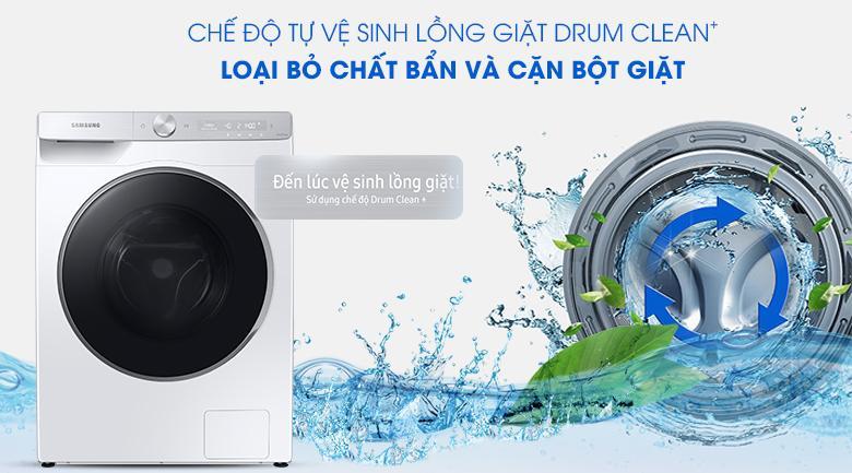 Máy giặt Samsung WW10TP44DSH/SV - Drum Clean